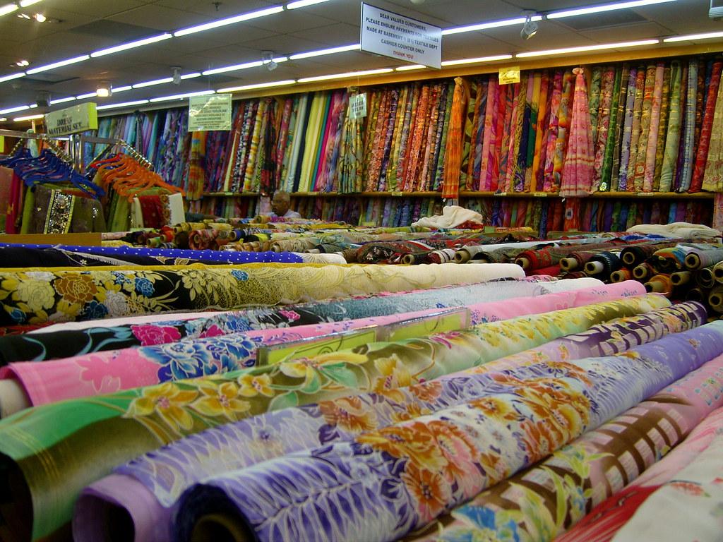 Fabric Mustafa Centre - Singapore   verityesaw   Flickr