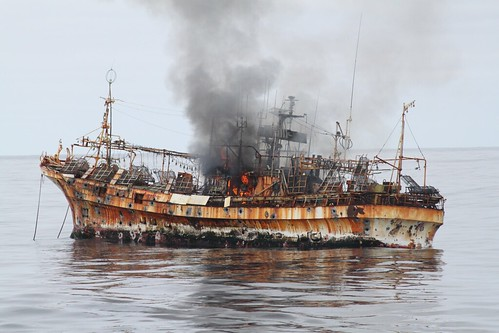 120405-G-ZZ999-The sinking of the Japanese fishing vessel Ryou-un Maru