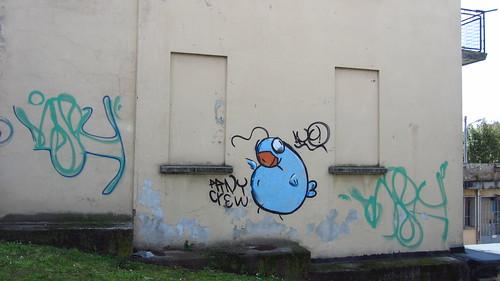 Blue Bird Graffiti, Varese | by Patty Mooney