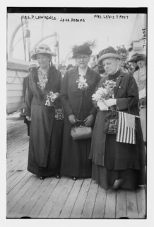 Mrs. P. Lawrence, Jane Addams, Mrs. Lewis F. Post  (LOC)