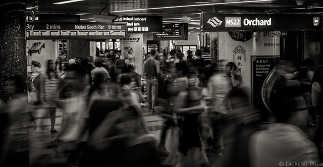 Endless movement of people