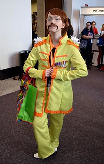 Sgt Pepper John Lennon Cosplay At Rhode Island Comic Con Flickr