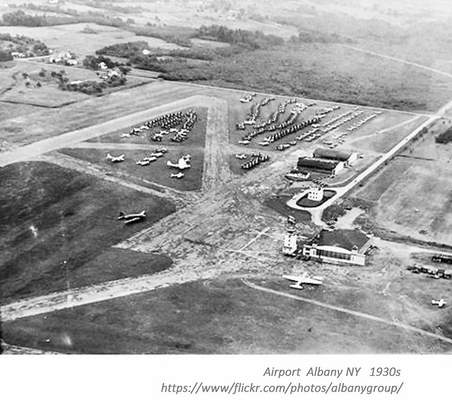 Airport albany ny 1930s