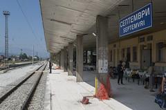Septemvri railway station, 16.09.2015.