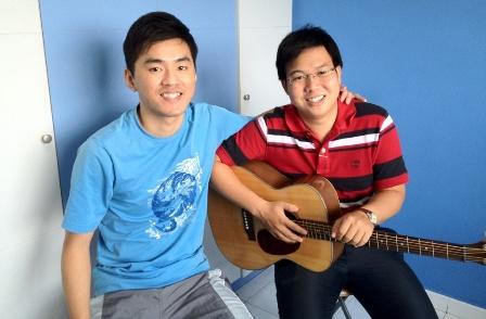 1 to 1 guitar lessons Singapore Yongguang