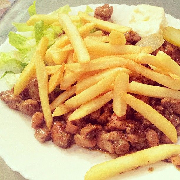Chicken Tender Member Kata Makanan Orang Kaya Lauk Maka Flickr