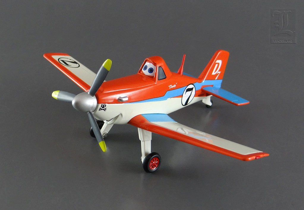 Disney ~ RACING DUSTY from the movie Planes - 1:43 scale d