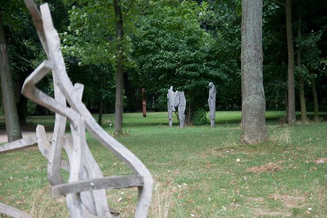 Kunst im Stammheimer Schlosspark