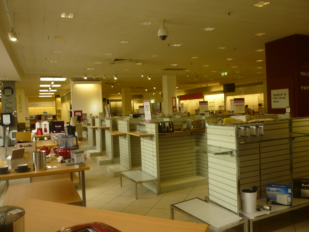 Myer Dandenong Closing Down Sale Interior Of Myer