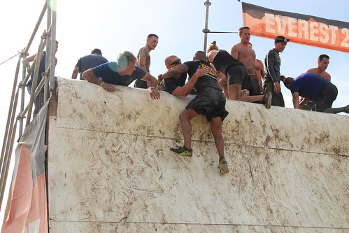 Men, Mud, Motivation: 143rd ESC takes on Tough Mudder Challenge | by 143d Sustainment Command (Expeditionary)