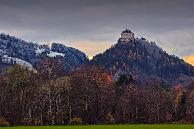 Castle Strechau Autumn