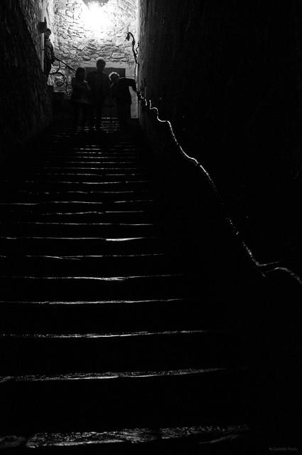 La luz de la escalera