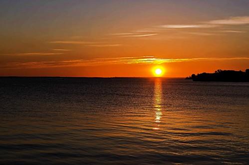 morning sky lake water wisconsin sunrise bay ripple great superior ashland lightroom chequamegon a55 mygearandme picmonkey