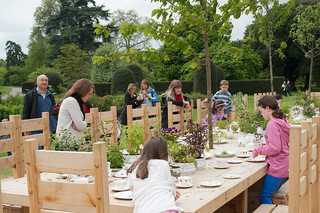 Rose Garden Tea Party | by Kew on Flickr