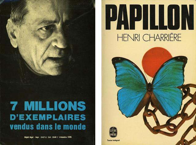 Livre de Poche 3284 - Henri Charrière - Papillon (with back)