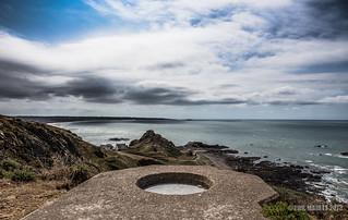Les Landes Tobruk overlooking St Ouens Bay | by Jersey War Tours