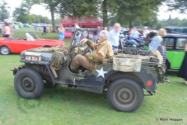 Classic Vehicles at the Blenheim Palace Festival of Transport