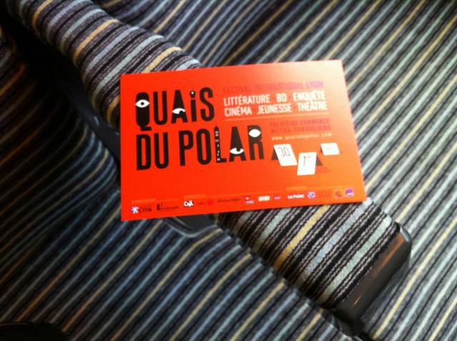 Quais du polar Lyon 2012