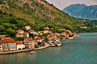 Along the Waterfront at Dobrota [Explore 9-6-13] | by trishhartmann