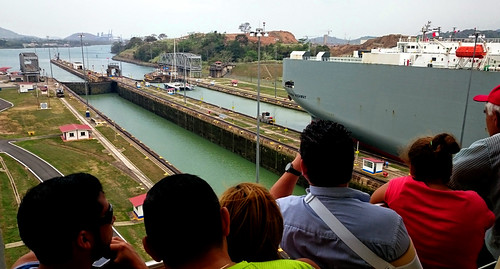 2015 - Panama - City - Canal Ship Going Through | by SeeJulesTravel