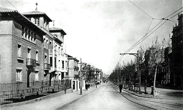 P.º de Sagasta 1929