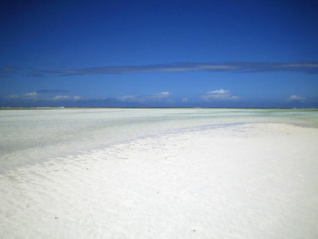 Low tide on the east coast - Kiwengwa, Zanzibar