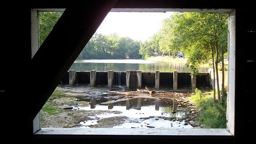 bridge ohio unitedstates coveredbridge eaton 2012 eatonohio preblecounty doublebarreledcoveredbridge