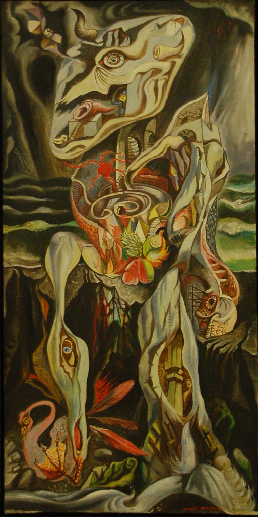 Le Labyrinthe, 1938, André Masson