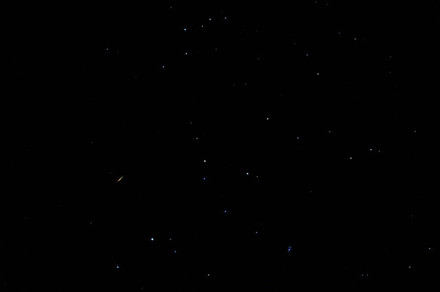 A Perseids Meteor: Short, But Sweet ... And Pretty