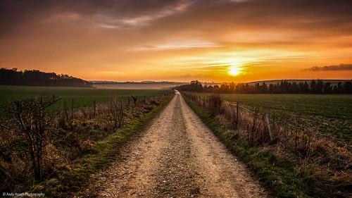 sunset england unitedkingdom southoxfordshire britwellsalome blinkagain