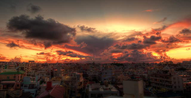 Sunset / Naha City #9
