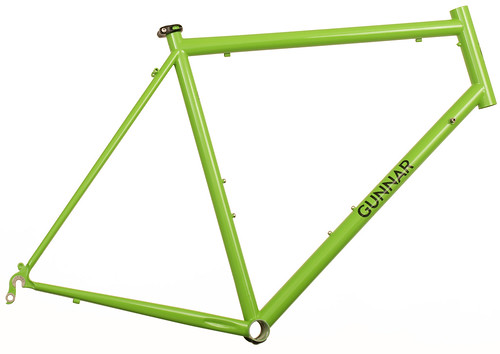 "<p>Gunnar Sport in Willow Green with Black Bullseye Decals.  The Sport offers a smooth ride and the capacity for 28C tires plus fenders in a lightweight package.  It's ideal for randonneuring, centuries, commuting and light touring.  <a href=""http://gunnarbikes.com/site/bikes/sport/"" rel=""nofollow"">Learn more . . .</a></p>"