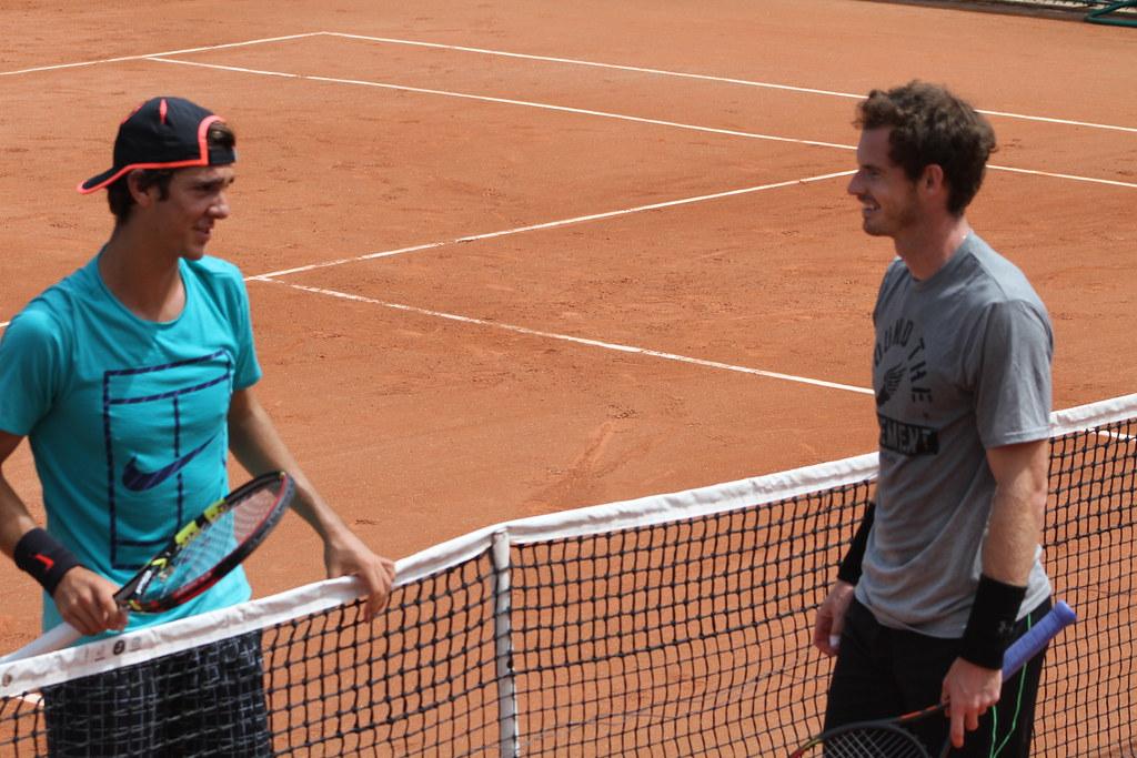 Thanasi Kokkinakis and Andy Murray
