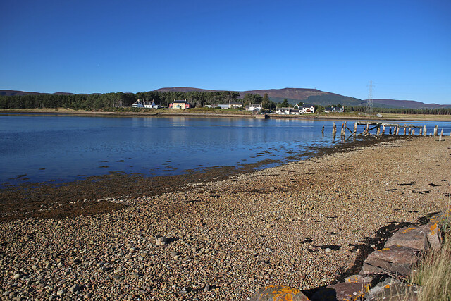 Littleferry across Loch Fleet