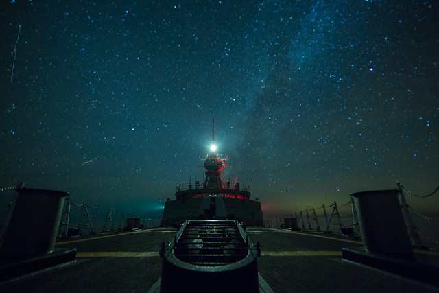 Starry Night from the Foc's'le