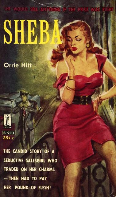 Beacon Books B211 - Orrie Hitt - Sheba