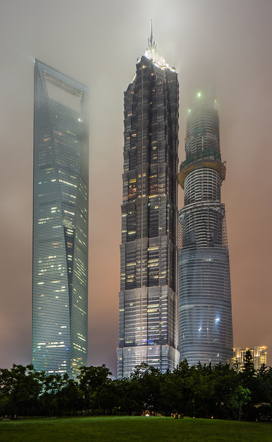 Three Giants - Shanghai