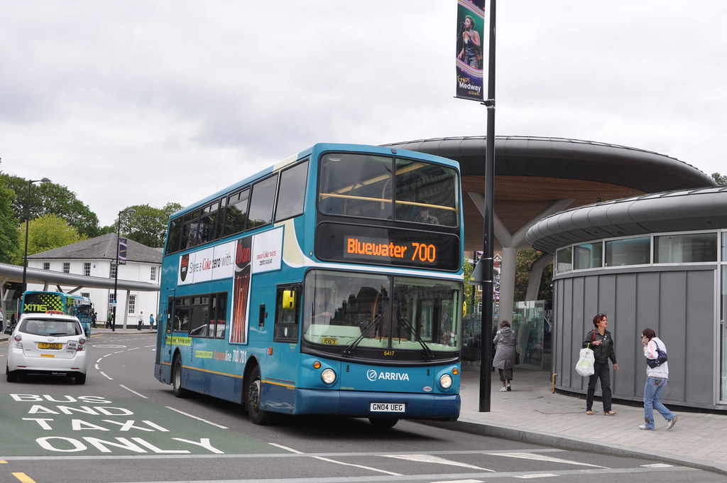 Arriva Kent Amp Surrey 6417 Gn04ueg Chatham Bus Station