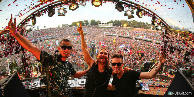 Tomorrowland 2013 - Afrojack, David Guetta & Nicky Romero