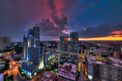 city pink sunset urban night clouds nikon view cloudy miami camden infinity condo 28 ultrawide f28 axis the d600 14mm samyang 2013 rokinon