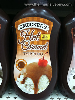 Smucker's Microwaveable Hot Caramel Topping | by theimpulsivebuy
