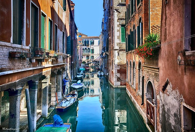 Venice the canals