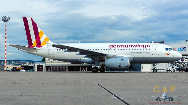D-AGWW Germanwings Airbus A319-132