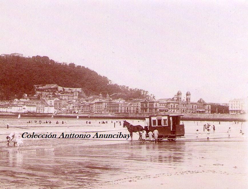 Banos San Sebastian.Tranvia Real Casa De Banos De San Sebastian Antton