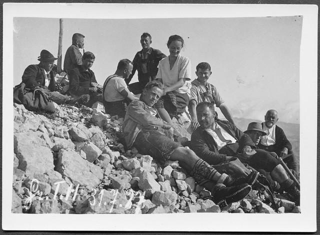 Archiv H859 Bergjause am 31. Juli 1927