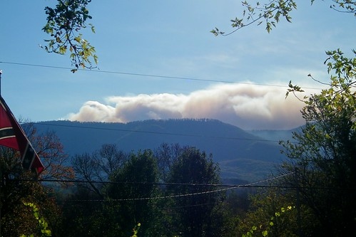 south mountain state park wildfire north carolina