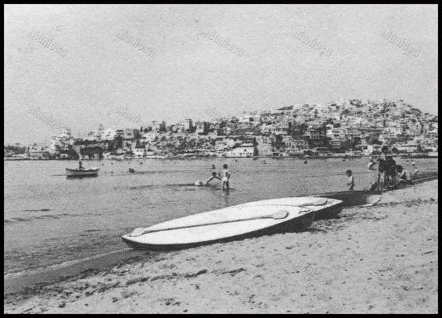 Παραλία Νέου Φαλήρου, 1969. Ιστορικό Αρχείο Δήμου Πειραιά.