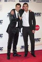 Luis Fernández y Mario Casas