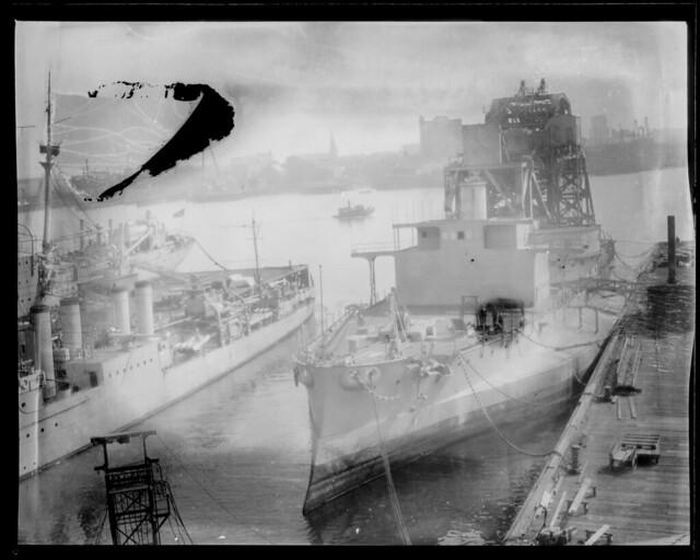 War activities around Boston during the big World War