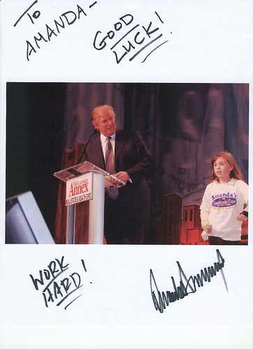 Mr. Trump and Amanda 152kb | by www.lemonade4heart.org